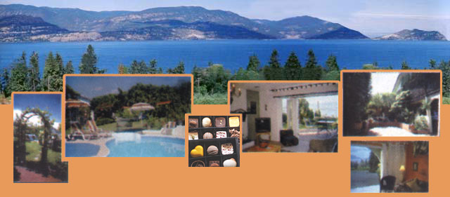Welcome to The Hacienda Lakeview Kelowna Vacation Suite in the Okanagan Valley